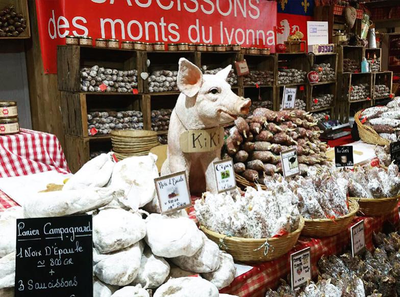 Salons et foires - Saucisson Lyonnais